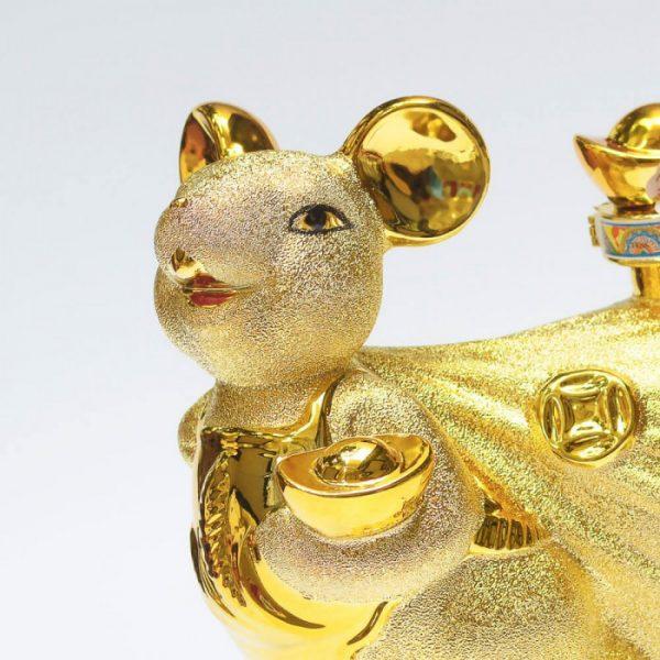 Chuột Vàng Trên Túi Tiền Vàng 3