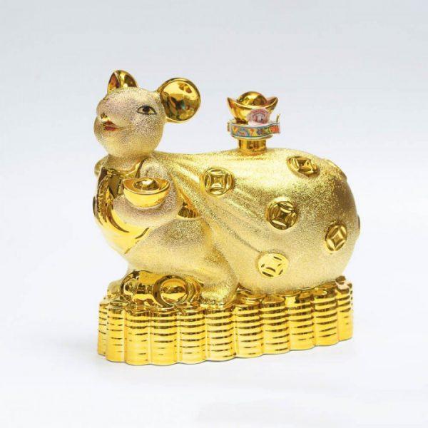 Chuột Vàng Trên Túi Tiền Vàng